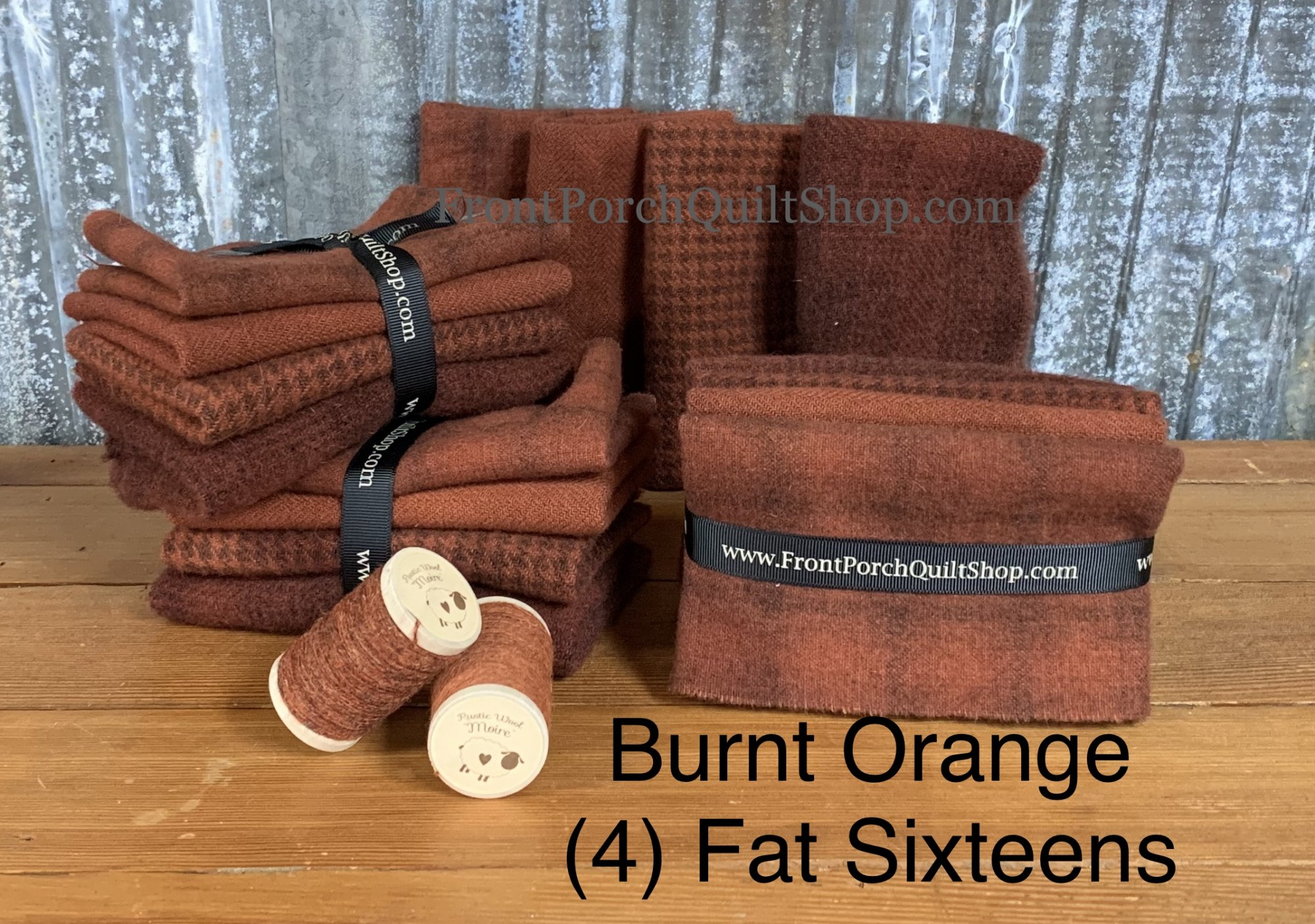 Fat Sixteen Bundle Burnt Orange