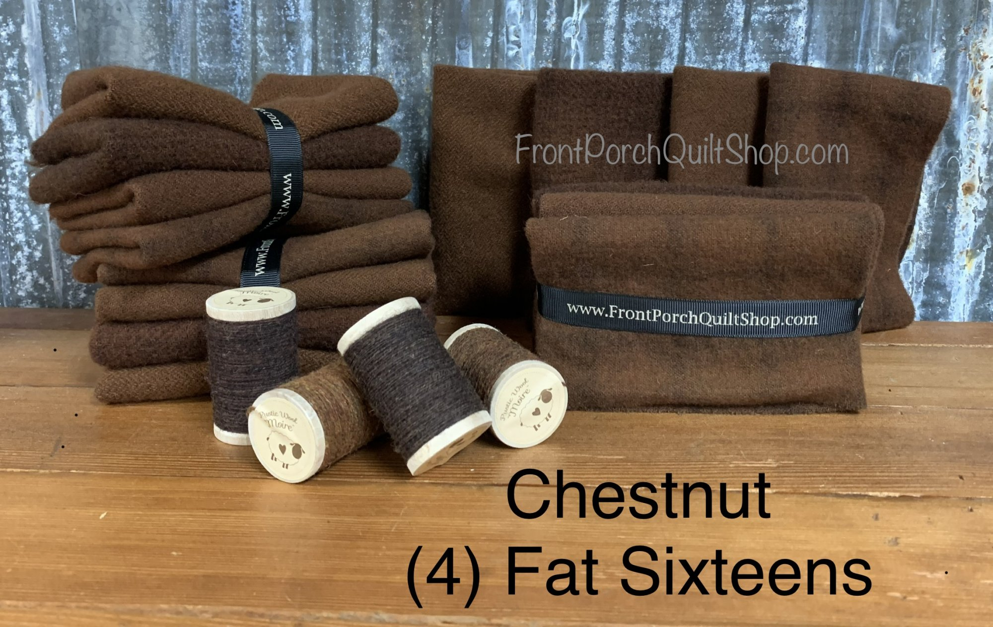 Fat Sixteen Bundle Chestnut