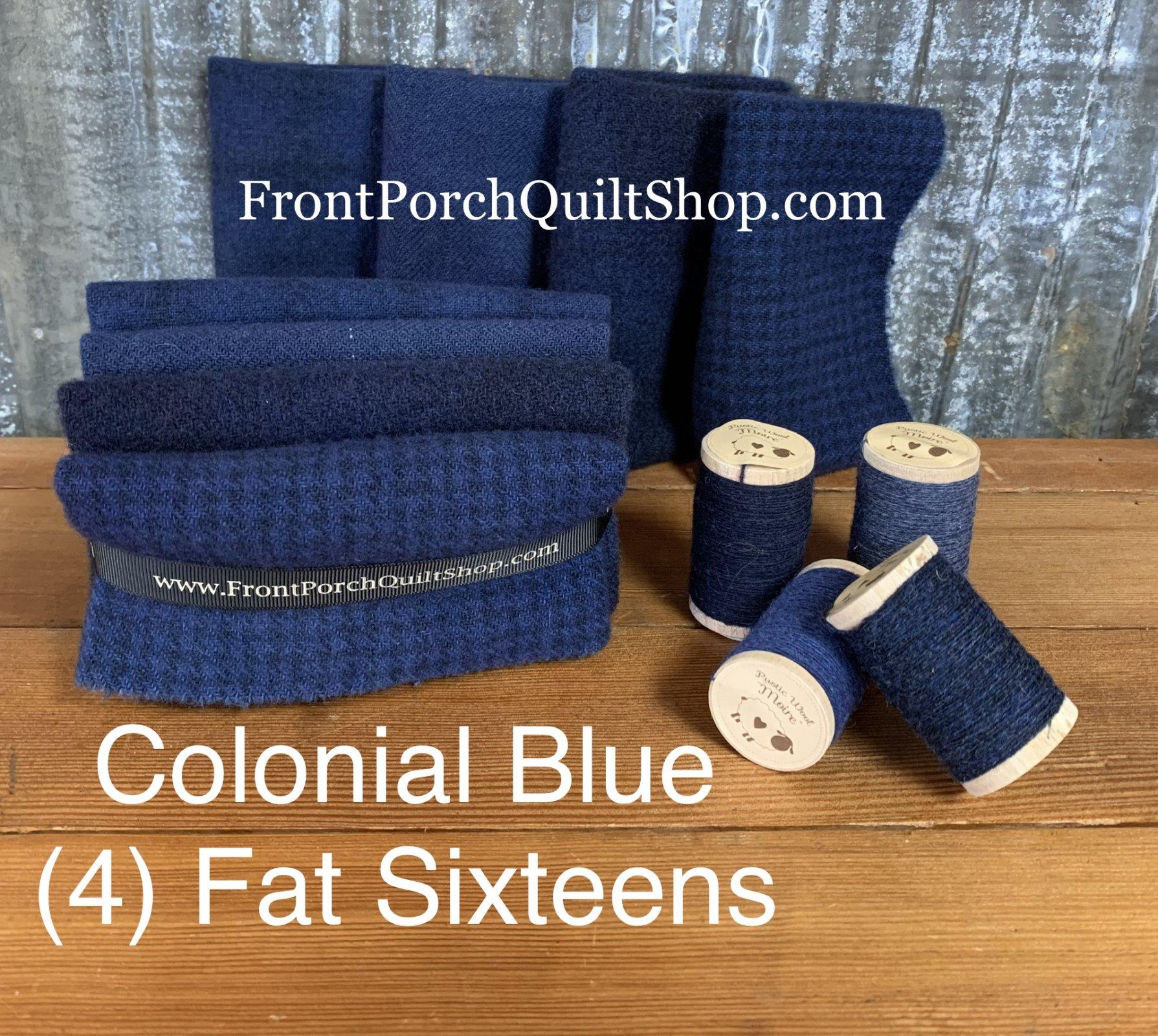 Fat Sixteen Bundle Colonial Blue