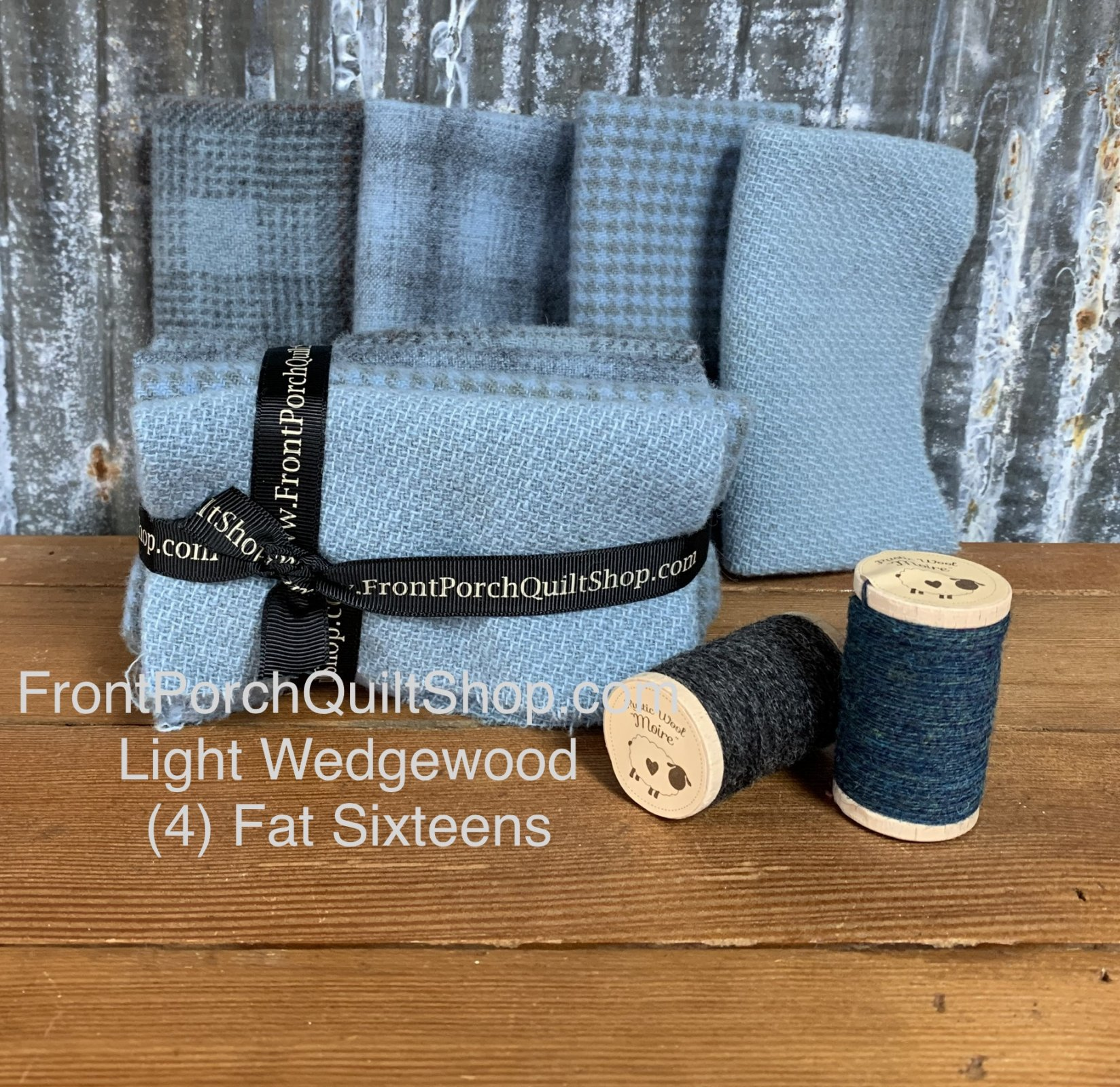 Fat Sixteen Bundle Light Wedgewood Blue