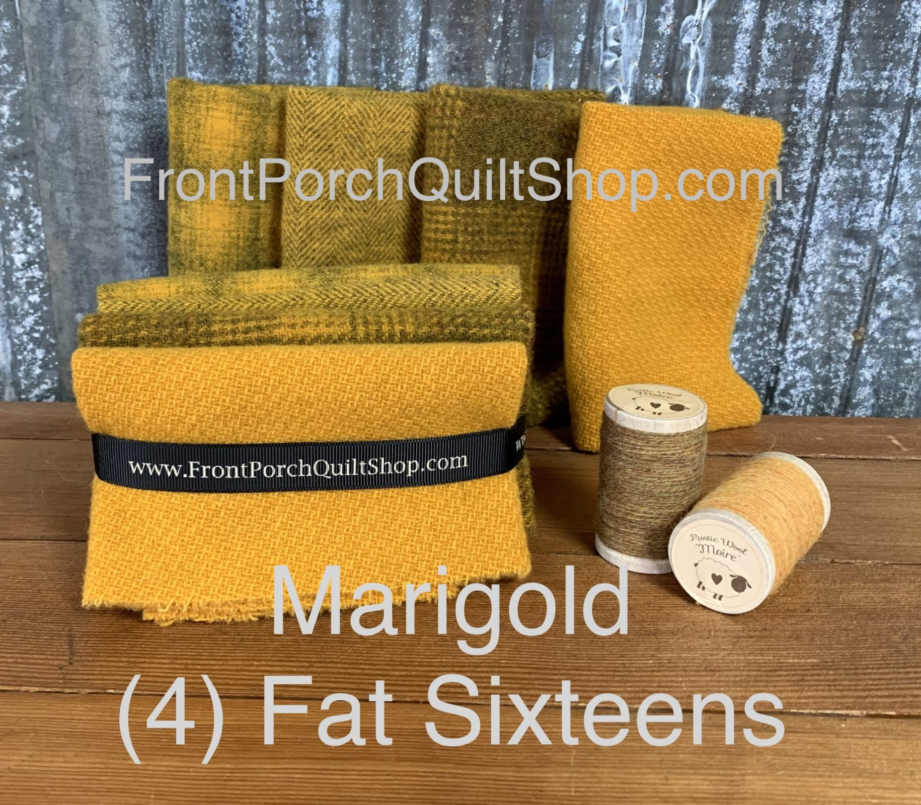 Fat Sixteen Bundle Marigold