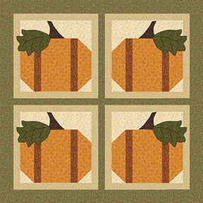 Four Pumpkins Free Downloadable Pattern