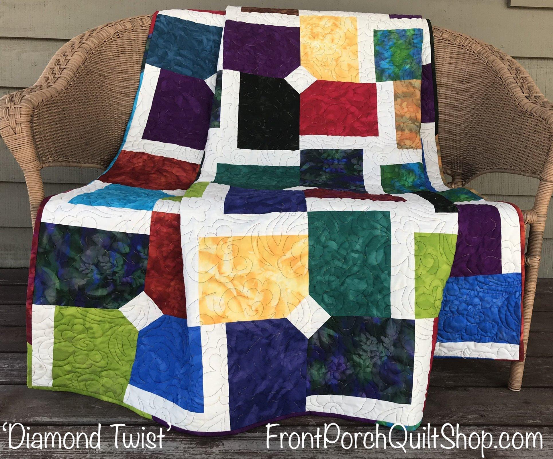 Diamond Twist Quilt Kit