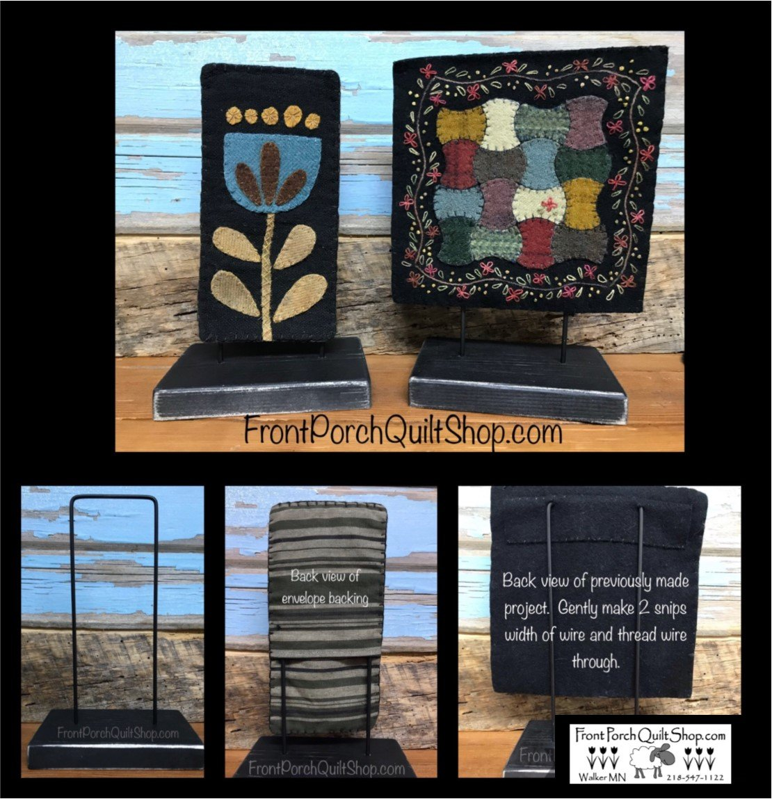 Skinnies Quilt Stands