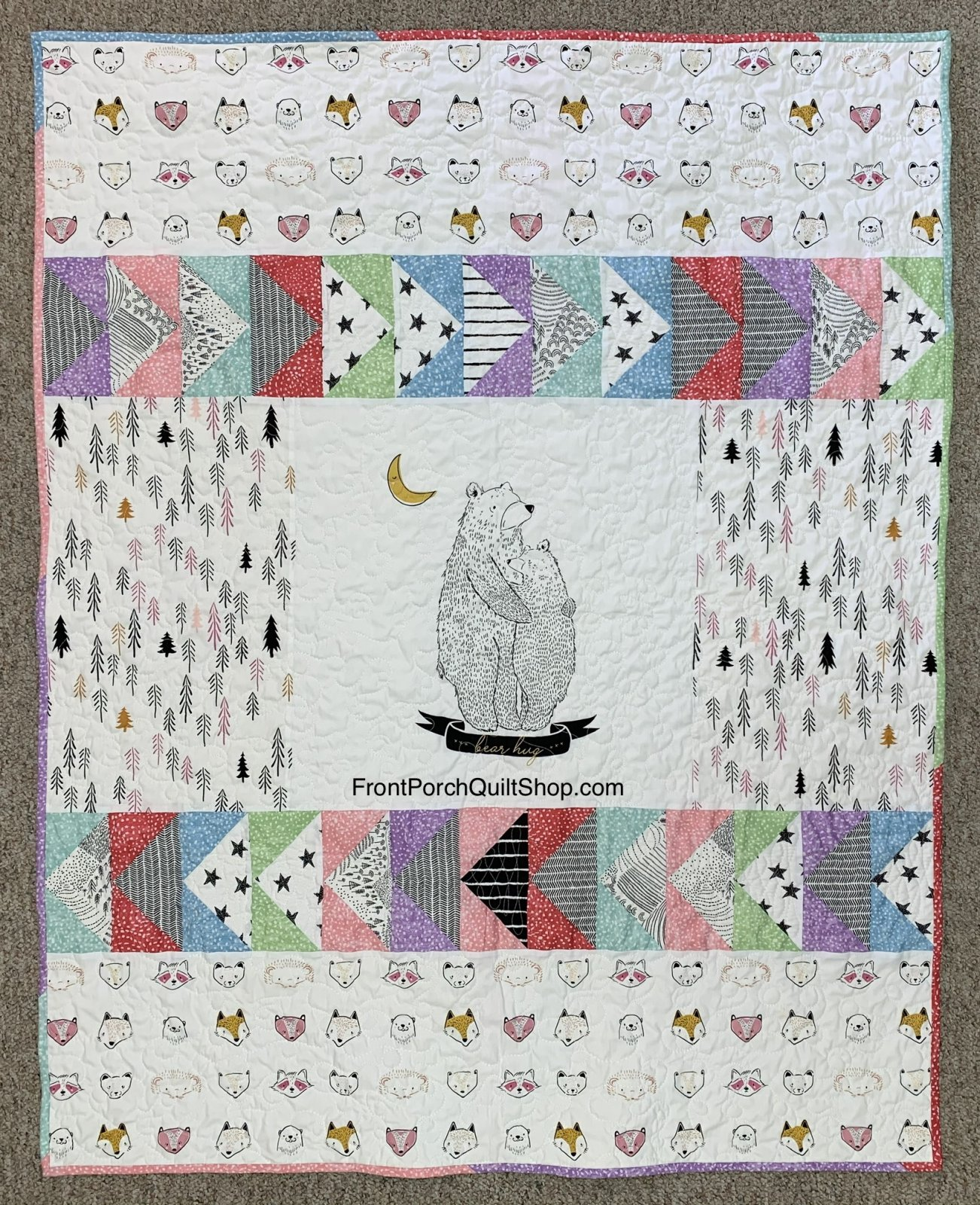 Snuggles Quilt Kit
