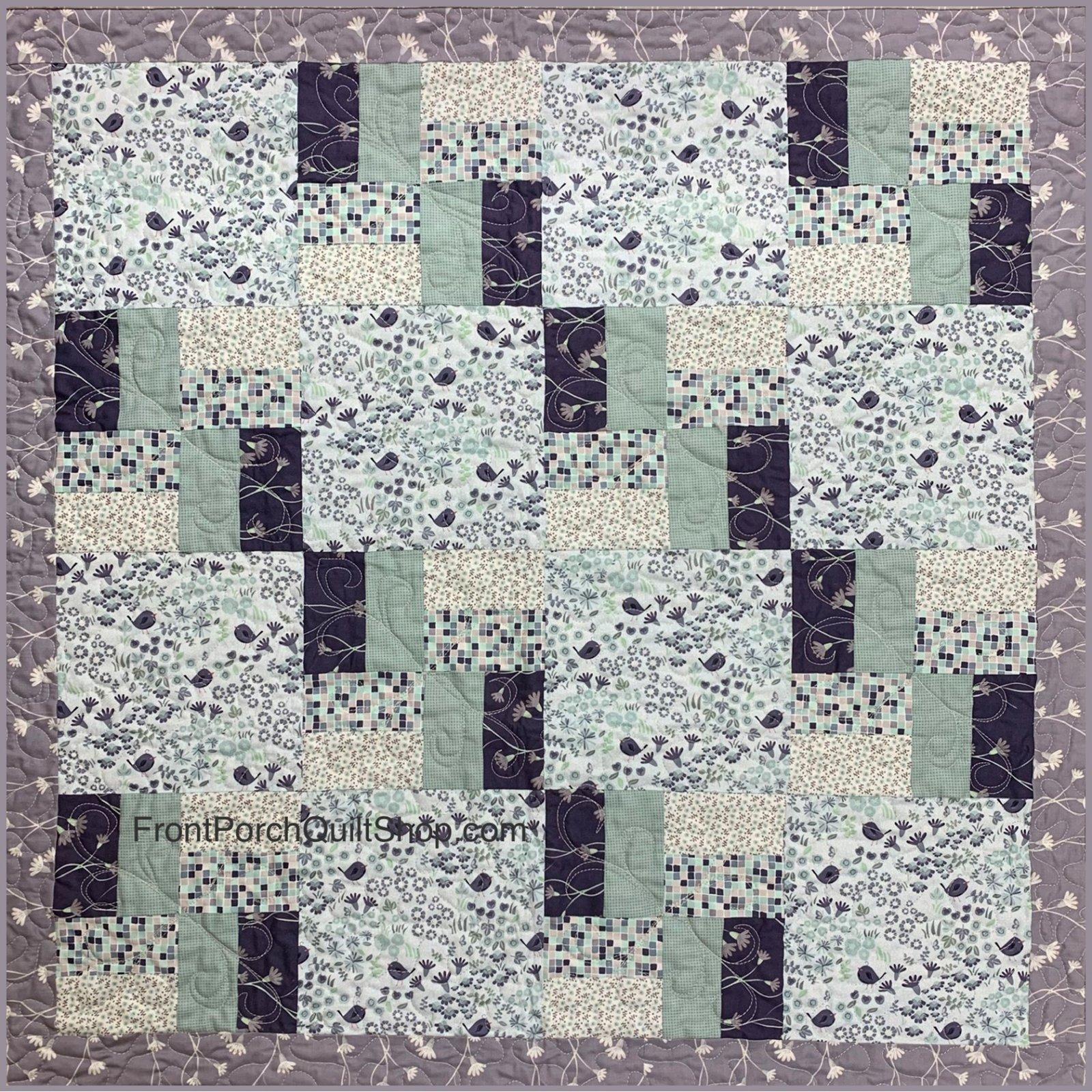 Wee Baby Secret Garden Quilt Kit
