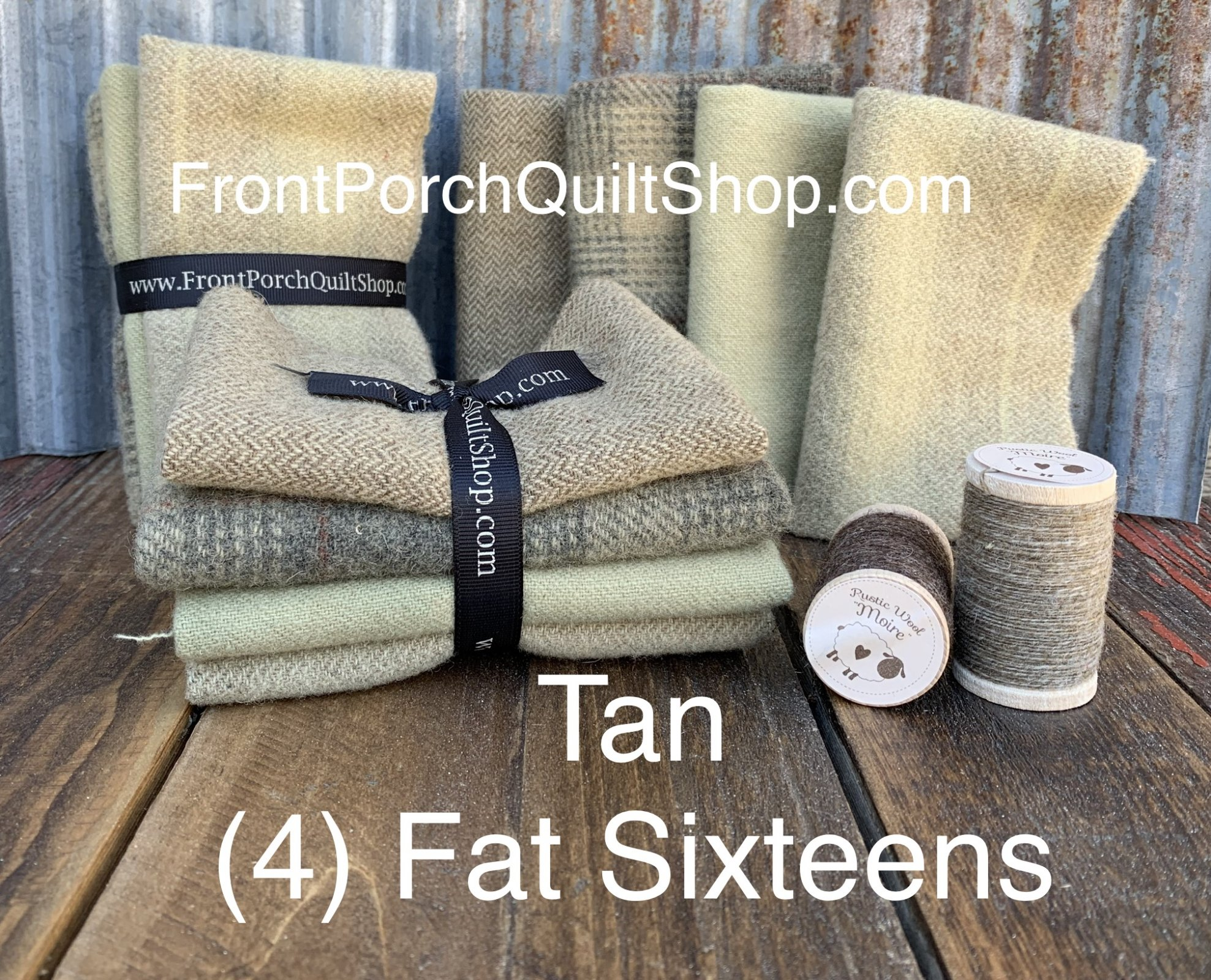 Fat Sixteen Bundle Tan