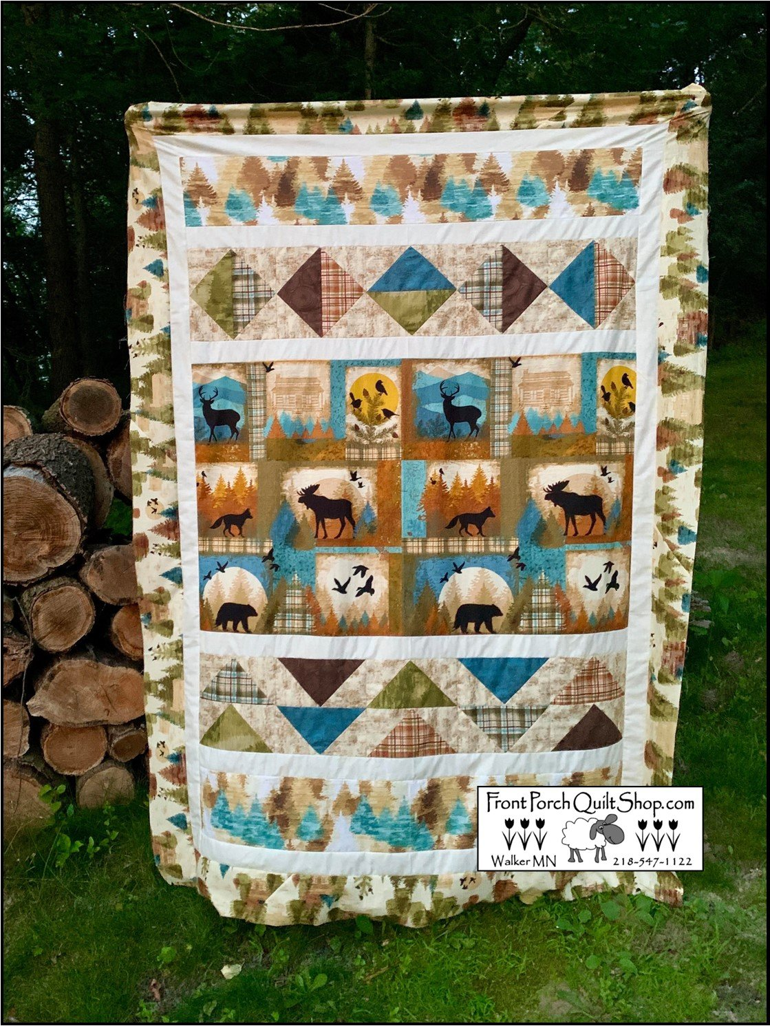 Cabin Quilt Wild and Free Kit