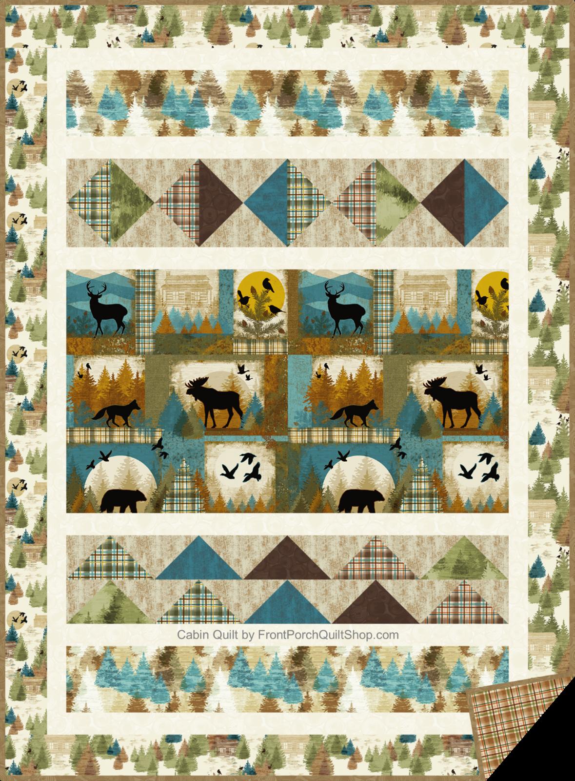 Cabin Quilt, pattern