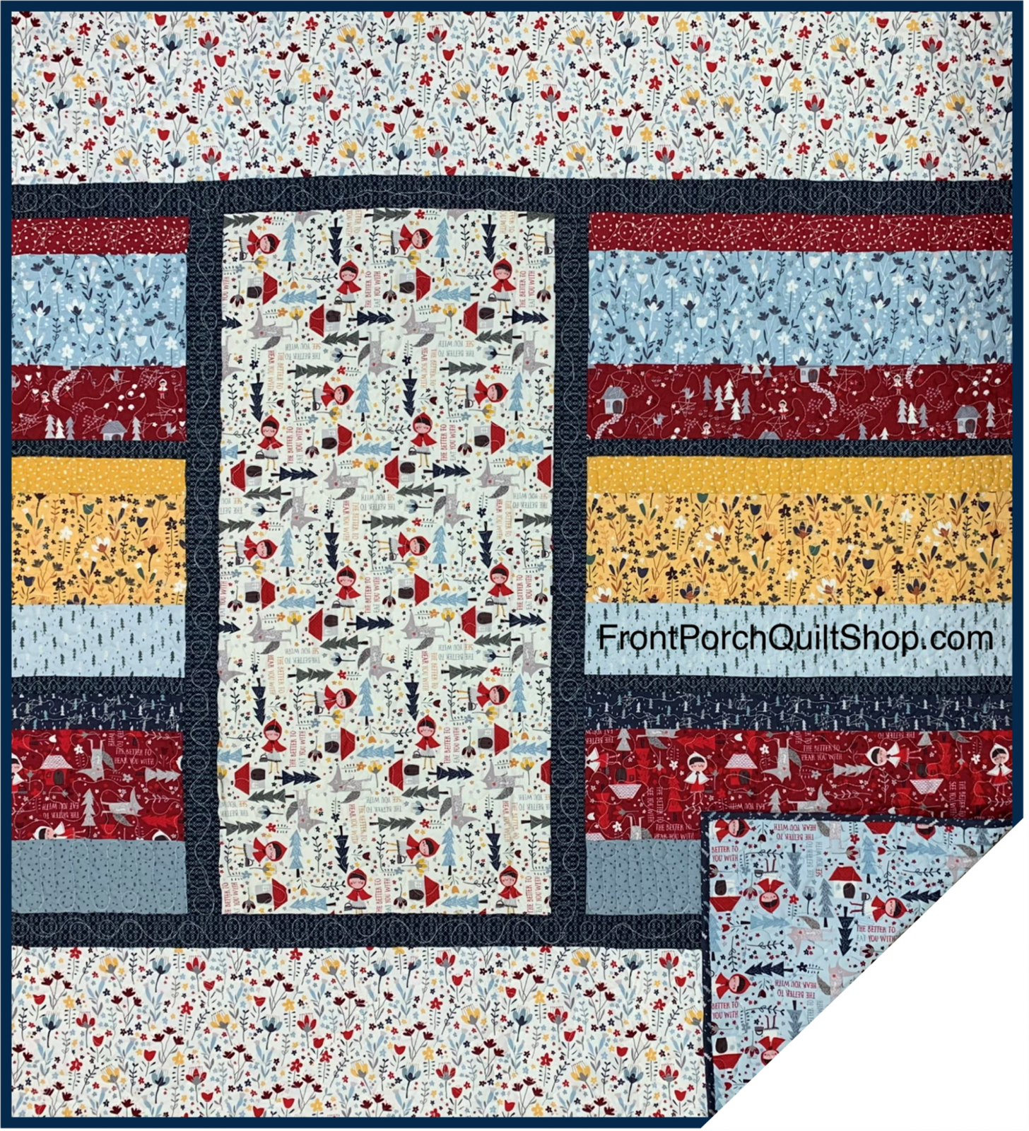 Jiffy Quilt Little Red Quilt Kit