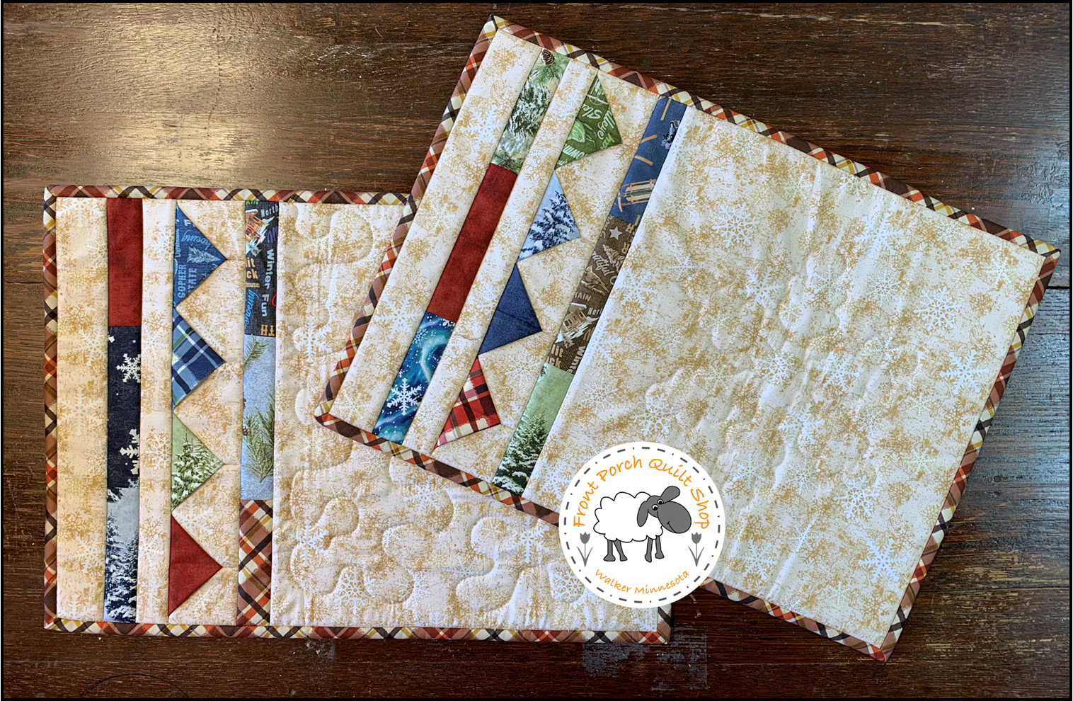 Friday Fiesta Placemats Quilt as You Go Quilt Minnesota 2021 Kit