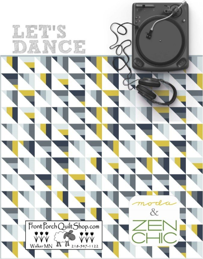 Let's Dance Downloadable PDF Pattern