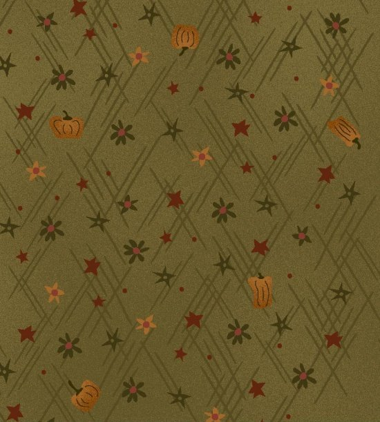 Autumn Song Mini Pumpkins Green