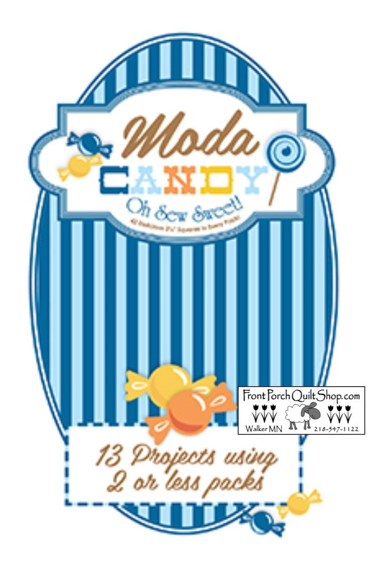 Moda Candy Blue Booklet Downloadable PDF Pattern