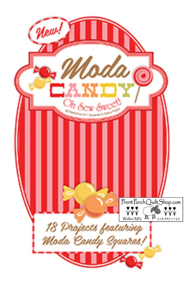 Moda Candy Red Booklet Downloadable PDF Pattern