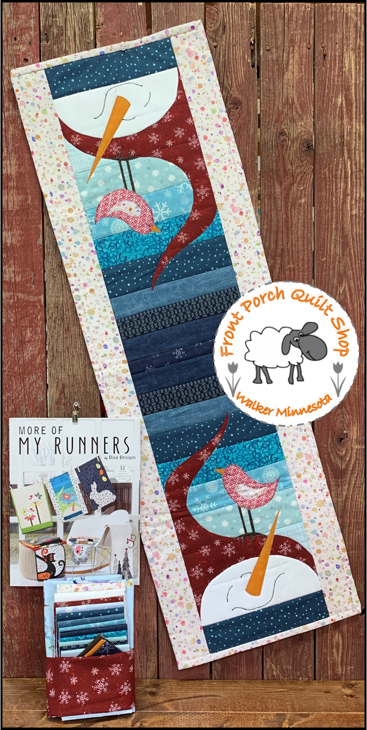 More of My Runners, Runner of the Month Winter Birds KIT ONLY