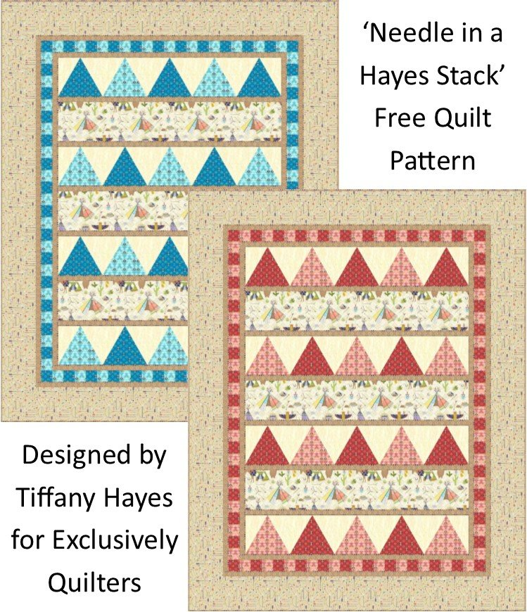 Needles in a Hayes Stack Free Downloadable Pattern