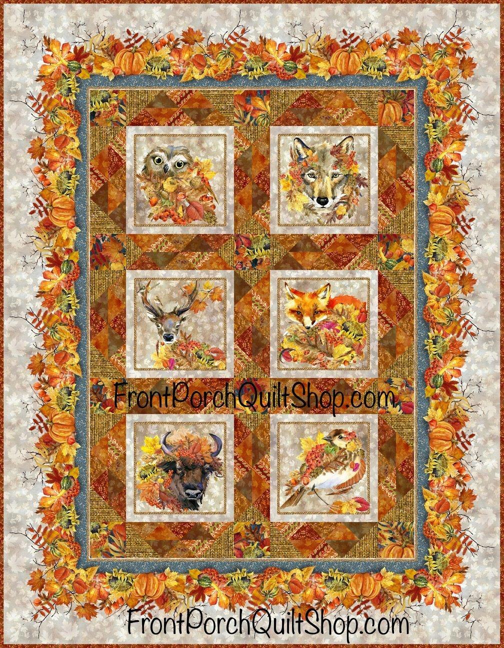 Our Autumn Friends Quilt Pattern