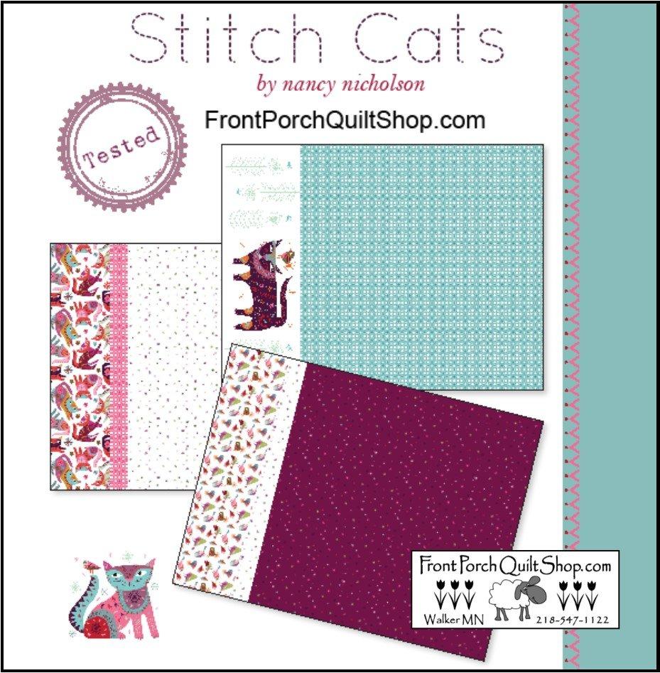 Stitch Cat Pillow Case Free Downloadable Pattern