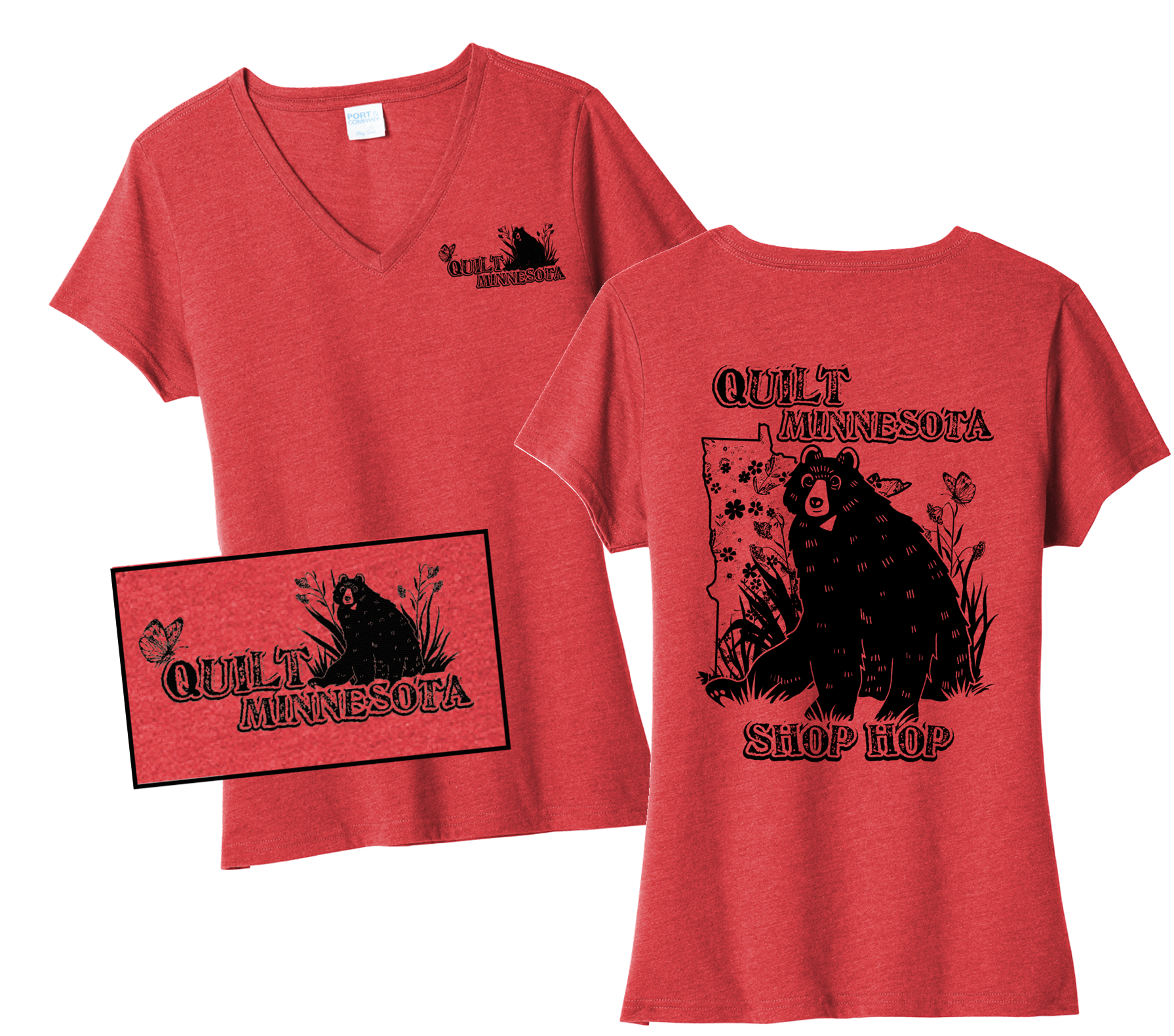 Quilt Minnesota T-shirts 2020