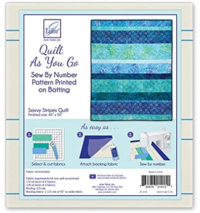 Quilt As You Go Savvy Stripes Quilts