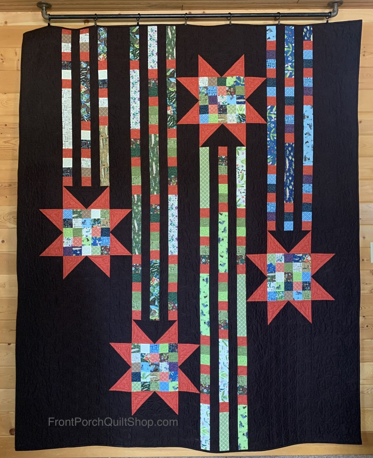 Showering Stars Exclusive Quilt Minnesota 2020 Quilt Kit