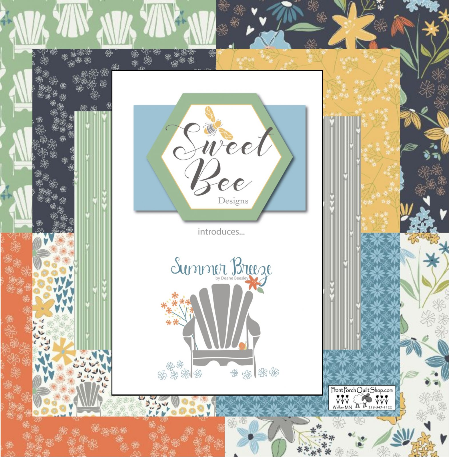 Summer Breeze Fat Quarter Bundle