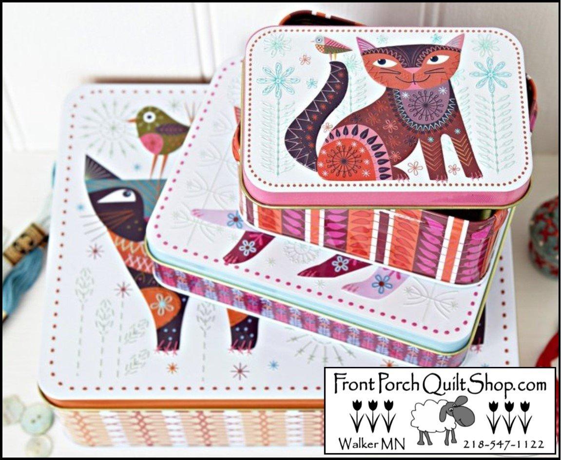 Stitch Cats Tin Set