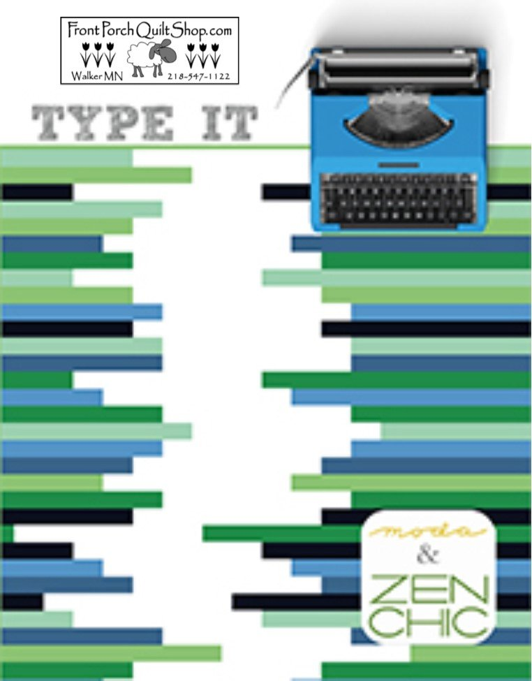 Type It Downloadable PDF Pattern