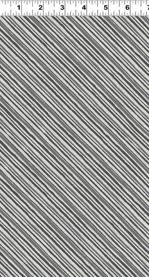 Quilt Minnesota 2019 Diagonal Stripe Gray