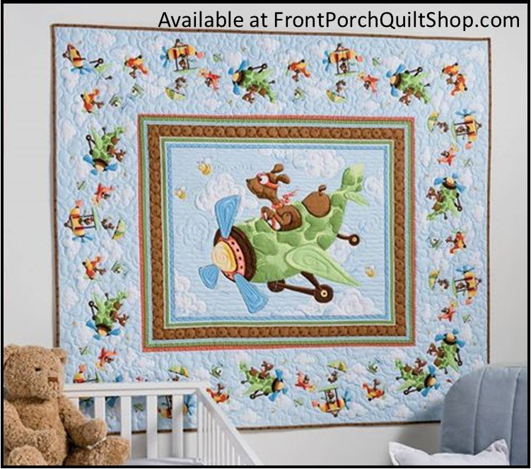Zig, The Flying Ace Quilt Kit