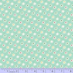 0755 0120 Dots Green