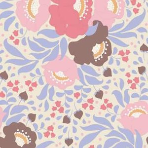 100187 Autumn Bouquet Blue