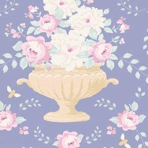 100221 Flowerbees Blue