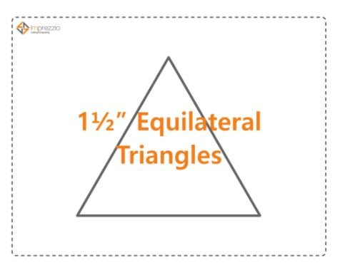 1 1/2 Equilateral Triangle