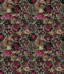 11GSG3 Magenta Hexagons