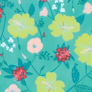 13320-13 Sea Green Floral