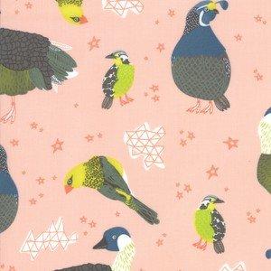 13321-16 Coral Birds