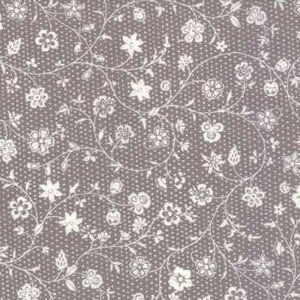 13843 16 French Grey Floral