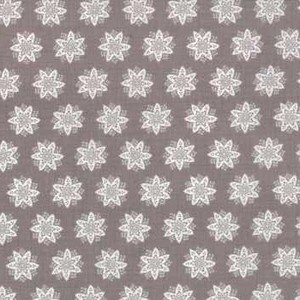 13844 20 French Grey Flower