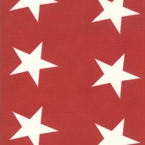 14889 20 Red Bunting Star