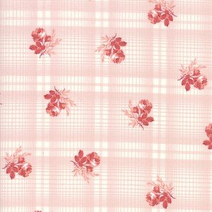 14895 11 Pink Printed Plaid