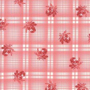 14895 13 Red Printed Plaid