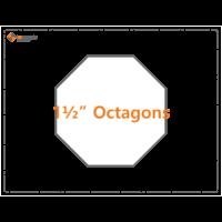 1 1/2inch Octagons