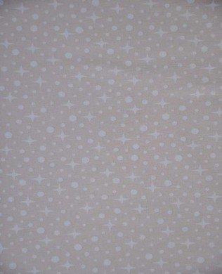17698 14 Natural Snow Stars
