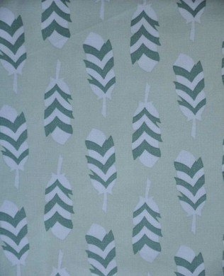 17703 384 Green Feathers