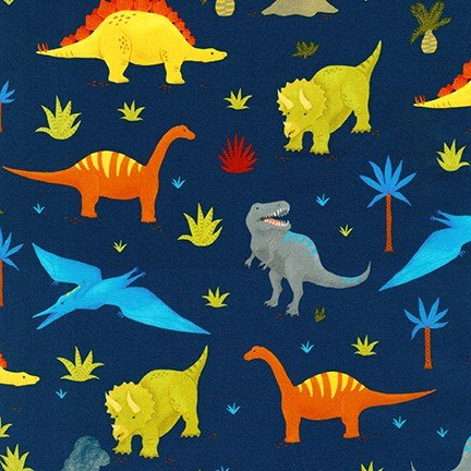 18612 9 Navy Dinosaurs
