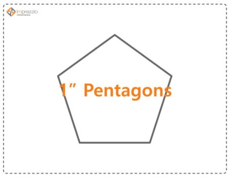 1 Inch Pentagon