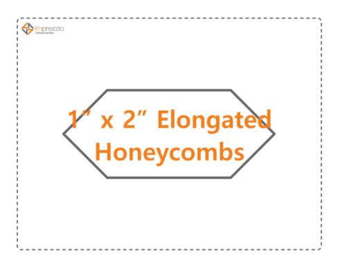 1 x 2 Elongated Honeycomb
