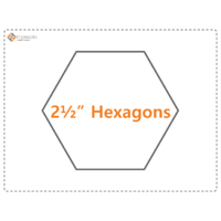 2 1/2 inch Hexagon